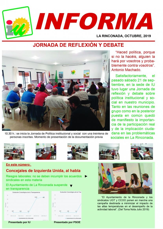 IU Informa - 2019 octubre